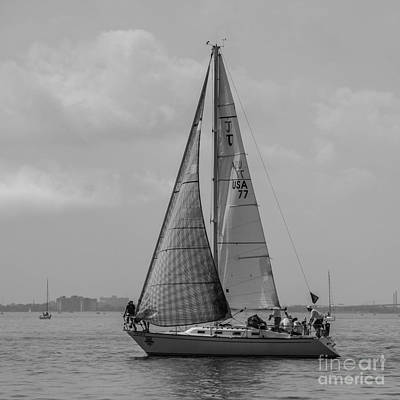 Photograph - #77 At The Start Of The Race by Grace Grogan