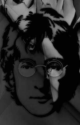 Mixed Media - John Lennon Collection by Marvin Blaine