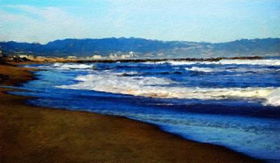 Cloud Painting - Nature Landscape Paintings by Margaret J Rocha