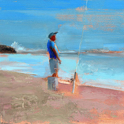 Outer Banks Painting - Rcnpaintings.com by Chris N Rohrbach