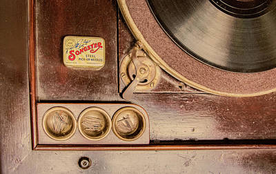 Art Print featuring the photograph 78 Rpm And Accessories by Gary Slawsky