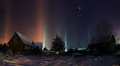 Bright Digital Art - Winter by Super Lovely
