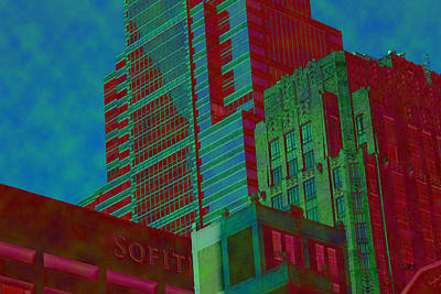 Philadelphia Scene Digital Art - 7971 by Jim Simms