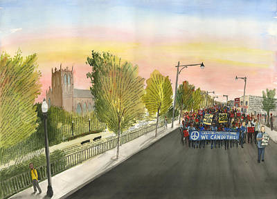 Painting - 79th Street Matters by Brian Meyer
