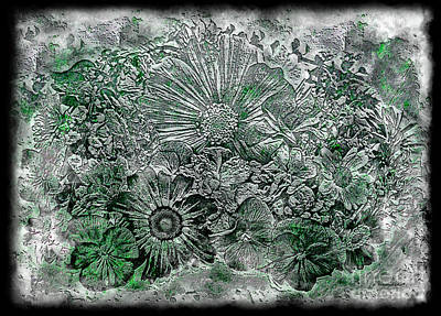 Photograph - 7a Abstract Floral Expressionism Digital Art by Ricardos Creations