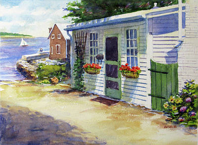 Painting - 7r Rockport by Carl Whitten