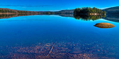 7th Lake Panorama Art Print by David Patterson