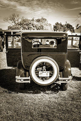 Photograph - 1924 Buick Duchess Antique Vintage Photograph Fine Art Prints 118 by M K  Miller