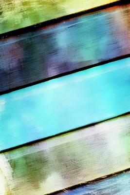 Cabin Wall Photograph - Abstract Background  by Tom Gowanlock