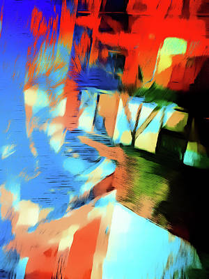 Psychedelic Photograph - Abstract Painting by Tom Gowanlock