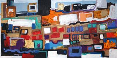 Painting - Apstrakcija by Saso  Petrosevski Novak - SPN