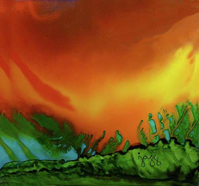 Jazz Art Painting - 8-b Landscape by Jazz Art