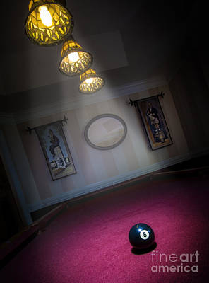 Print featuring the photograph 8 Ball by Brian Jones