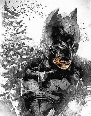 Batman The Movie Print Print by Egor Vysockiy