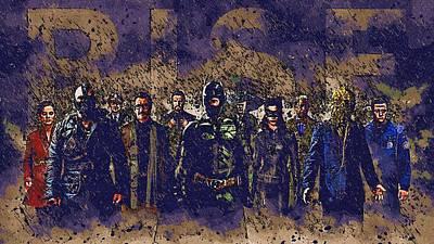 Batman Digital Art - Batman The Poster by Egor Vysockiy