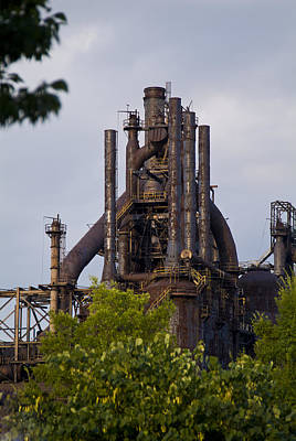 Photograph - Bethlehem Steel by Michael Dorn