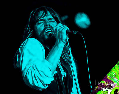 Rock Mixed Media - Bob Seger Collection by Marvin Blaine