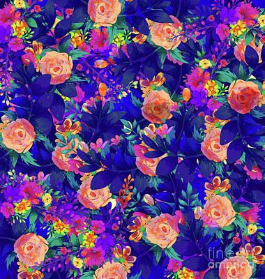 Pathway Digital Art - Botanical Garden by Amir Faysal