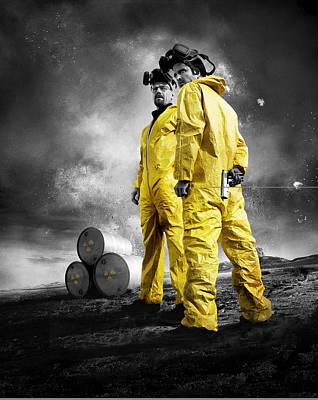 Breaking Bad 2008 Art Print
