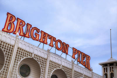 Brighton Pier Art Print by Joana Kruse