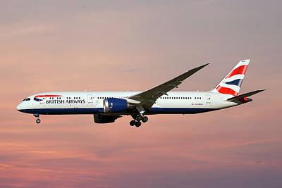 Photograph - British Airways Boeing 787-9 Dreamliner by Smart Aviation