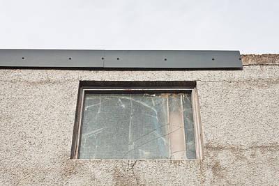 Broken Window Art Print by Tom Gowanlock