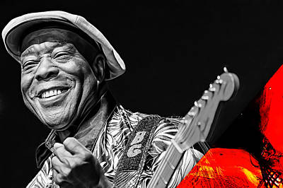 Buddy Guy Collection Art Print