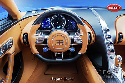 Photograph - Bugatti Chiron by Mohamed Elkhamisy
