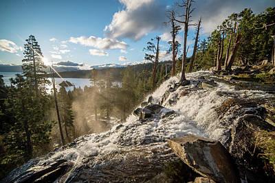 Comic Character Paintings - California - Lake Tahoe - Eagle Falls - Sunrise by Ryan Kelehar