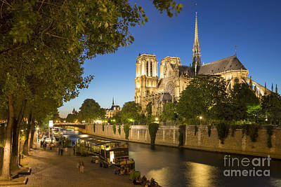 Photograph - Cathedral Notre Dame by Brian Jannsen