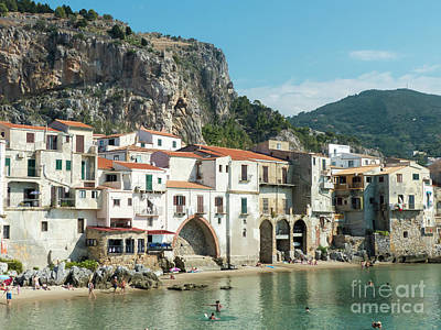 Photograph - Cefalu Waterfront by Rod Jones