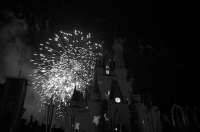 Photograph - Cinderella Castle by Rob Hans