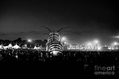 Coachella Music Festival 2015 Art Print