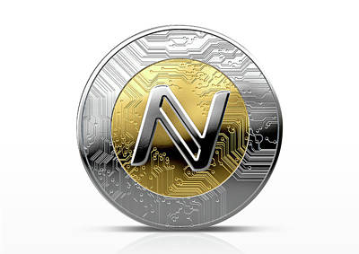 Cryptocurrency Physical Coin Art Print