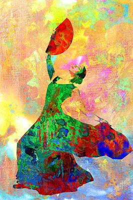 Dancers Digital Art - Dance by Elena Kosvincheva