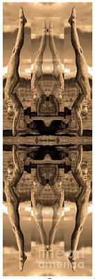Digital Art - 8 Deaths Of A Yogi by Deprise Brescia