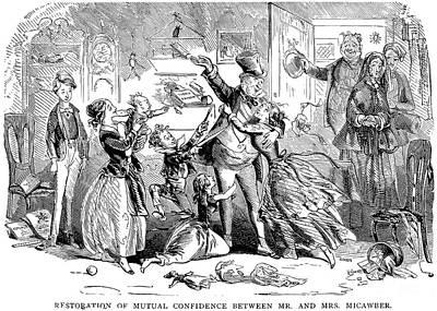Dickens: David Copperfield Art Print by Granger