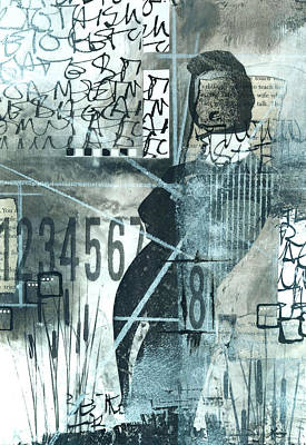 Abstract Mixed Media - 8 Directions To Take by Laura  Lein-Svencner