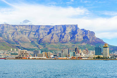 Photograph - Downtown Cape Town With Table Mountain by Marek Poplawski