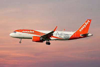 Photograph - Easyjet Airbus A320-251n by Smart Aviation