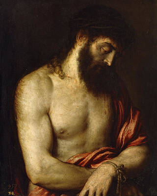 Christian Painting - Ecce Homo by Titian