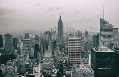 City Scenes Royalty-Free and Rights-Managed Images - Empire State by Martin Newman