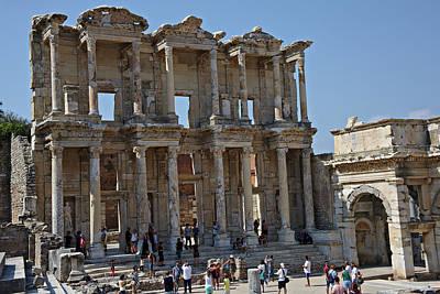 Photograph - Ephesus Turkey by Cendrine Marrouat
