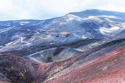 Italian Landscapes Photograph - Etna - Sicily by Joana Kruse