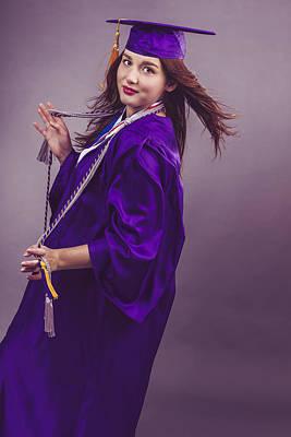 Photograph - Female Graduation by Peter Lakomy