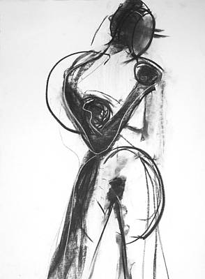 Figure Painting - Figure Drawing by Leah Hicks