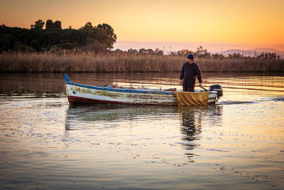 Photograph - Fisherman's Virtues by Alfio Finocchiaro