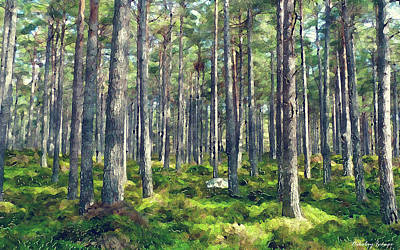 Natural Painting - Forest by Nikolay Ivanov