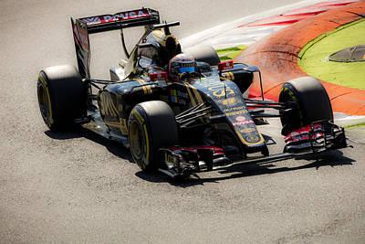 Formula 1 Monza Art Print by Srdjan Petrovic