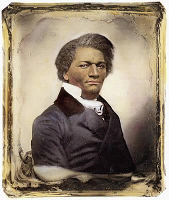 Abolition Photograph - Frederick Douglass by Granger